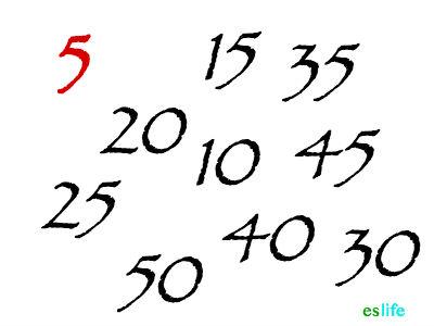 Como saber si un numero es multiplo de 5