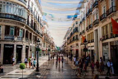De compras en Malaga