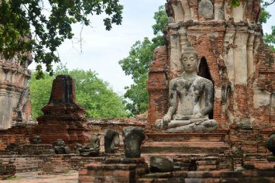 Templos budistas Ayutthaya