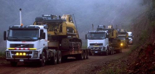 mover maquinas pesadas