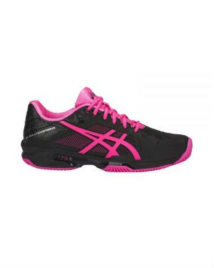 SICS GEL SOLUTION SPEED 3 CLAY NEGRO FUCSIA MUJER