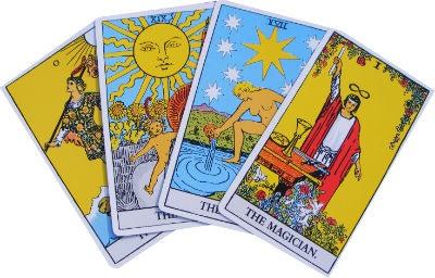 Tarot cuatro cartas