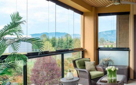 5 ventajas de utilizar cortinas de cristal