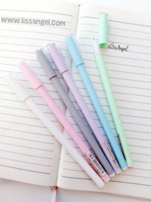 Boligrafos y libretas bonitas