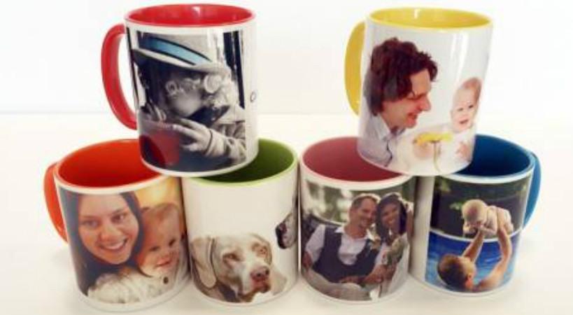 Personaliza tus tazas y puzzles con tus fotos favoritas