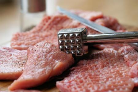 corte de carne magra