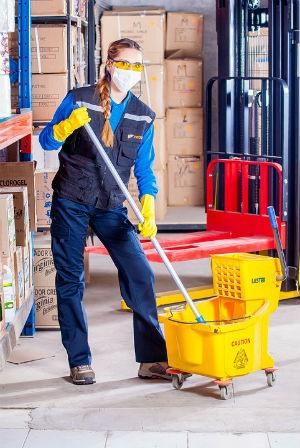 Uniformes de limpieza