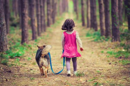 Los beneficios del vínculo emocional entre niños y mascotas