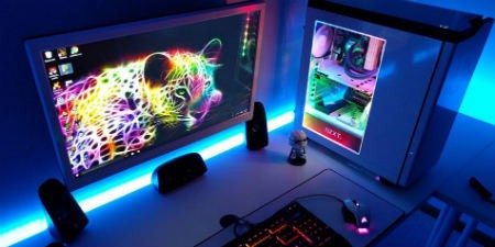 escritorio pc gaming