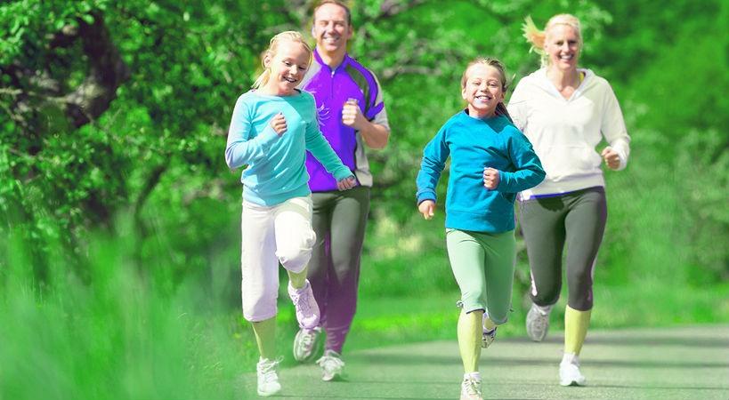 4 ideas para hacer deporte en familia