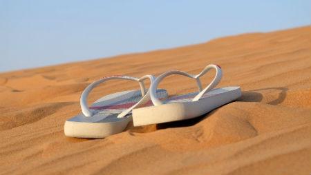 Tiras de las sandalias