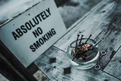 Dejar de fumar con fosfenos