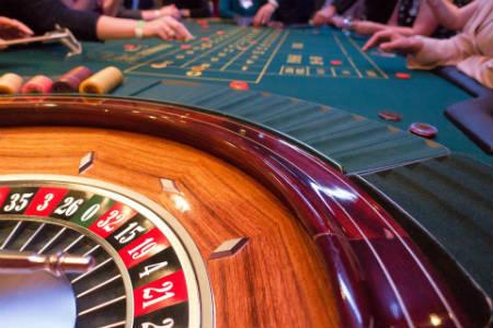 Juego de la ruleta en el casino