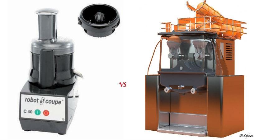 Diferencias entre un extractor de zumos y una licuadora