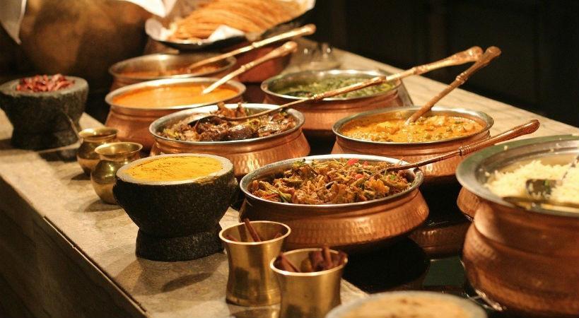Comida india para la salud