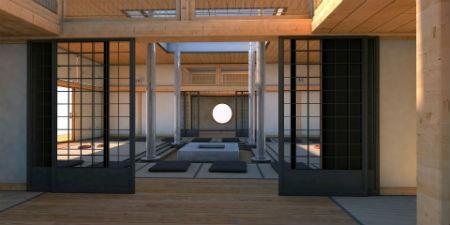 Interiorismo japonés