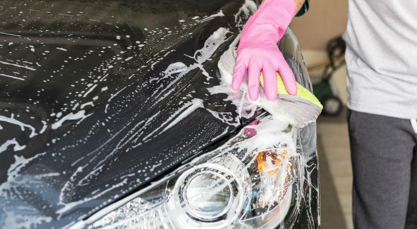 Mantener tu coche limpio