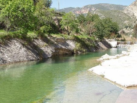 Paseo en el río Sot con niños