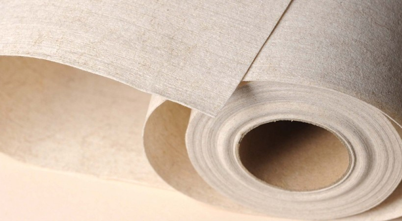 Papel pintado compostable