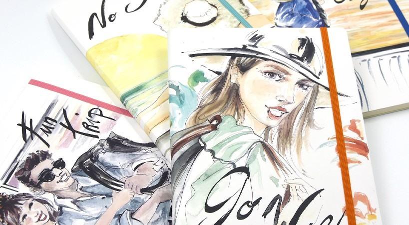 Libretas y cuadernos de moda
