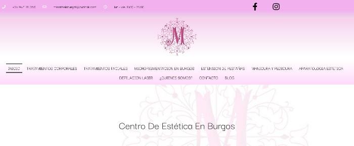 Centro de estética en Burgos