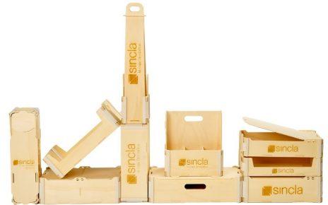 Cajas de madera Sincla para embalaje