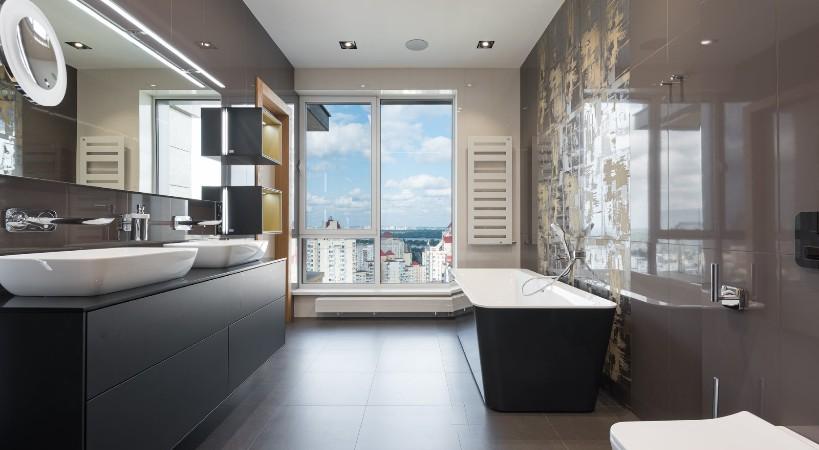 Mejorar decoración baño rústico
